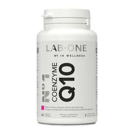 LAB ONE N1 Coenzyme Q10 100mg 60 kaps