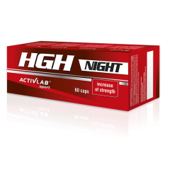 ACTIVLAB HGH Night 60 Capsules