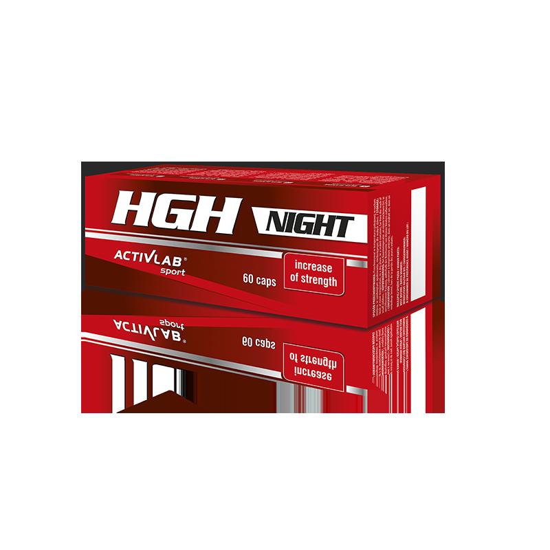 ACTIVLAB HGH Night 60 Capsules