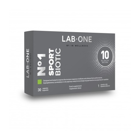 LAB ONE N1 SportBiotic 30 kaps.