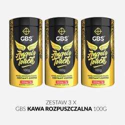 Zestaw GBS kawa rozpuszczalna 3 x 100g