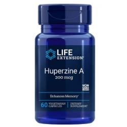 LIFE EXTENSION Huperzine A 200 mcg 60 vcaps