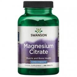 SWANSON Cytrynian Magnezu 240 tabl.