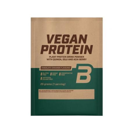 BIOTECH Vegan Protein 25g SMAKI CZEKOLADOWE (saszetka)