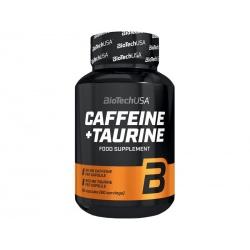 BIOTECH kofeina+tauryna 60 kaps.