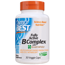 Doctors Best Fully Active B-Complex 30 vcaps.