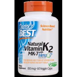 Doctors Best Vitamin K2 MK-7 100mcg 60 weg.kaps.