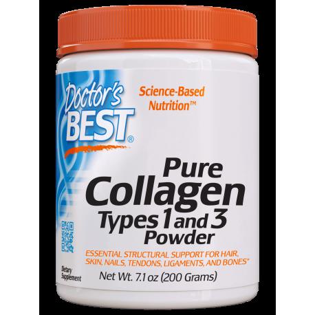 Doctors Best Collagen Types 1&3 Powder 200 g