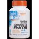 DOCTOR'S BEST Omega 3 Fish Oil 1000mg 120 gels.
