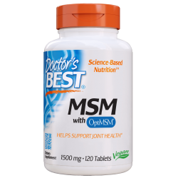 Doctors Best MSM 1500mg 120 tabl.