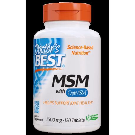 Doctors Best MSM 1500mg 120 tabl.
