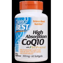 Doctors Best Koenzym Q10 Bioperine 100 mg 60 vcaps.