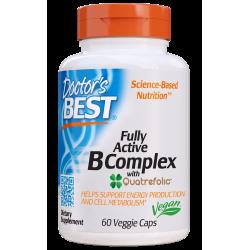 Doctors Best Fully Active B-Complex 60 weg.kaps.