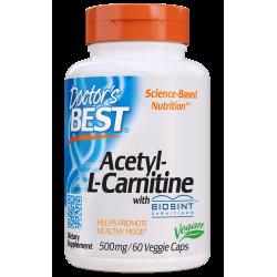 Doctors Best Acetyl-L-Carnitine 500mg 60 weg.kaps.