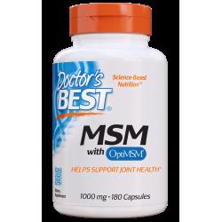 Doctors Best MSM 1000mg 180 kaps.