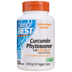 Doctors Best Curcumin Phytosome with Meriva 500mg 60 weg.kaps.