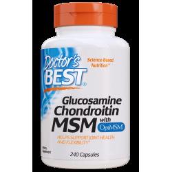 Doctors Best Glucosamine Chondroitin MSM 240 caps.