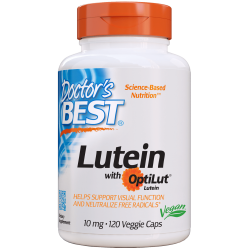 Doctor's best Lutein 10mg 120kaps.