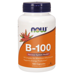 NOW Foods B-100 100 kaps.