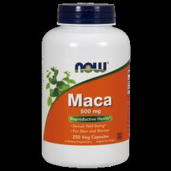 NOW FOODS Maca 500 mg 250 caps.