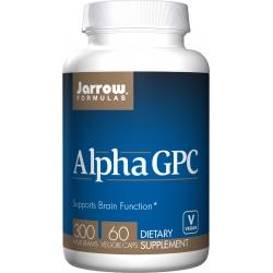 JARROW Alpha GPC 300mg 60 vcaps.