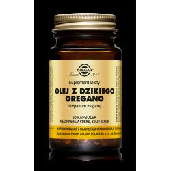 SOLGAR Olej z Dzikiego Oregano 60kaps