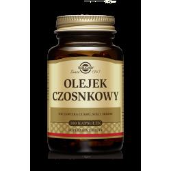 SOLGAR Olejek Czosnkowy Świeży 100kaps.