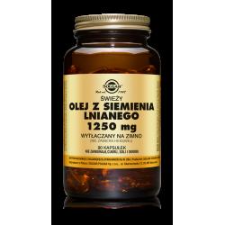 SOLGAR Olej z siemienia lnianego 90kaps