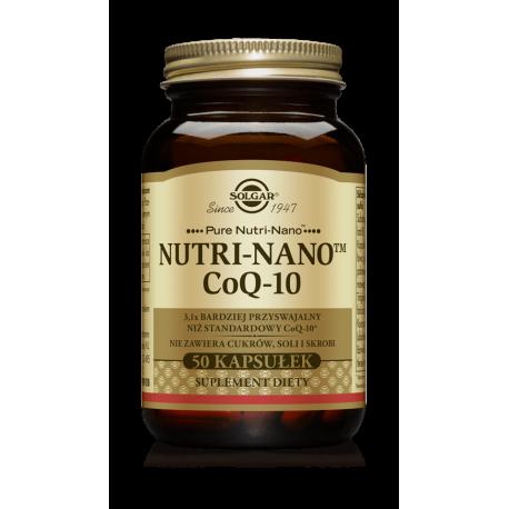 SOLGAR Koenzym Q10 Nutri-Nano 30mg 50 kaps.