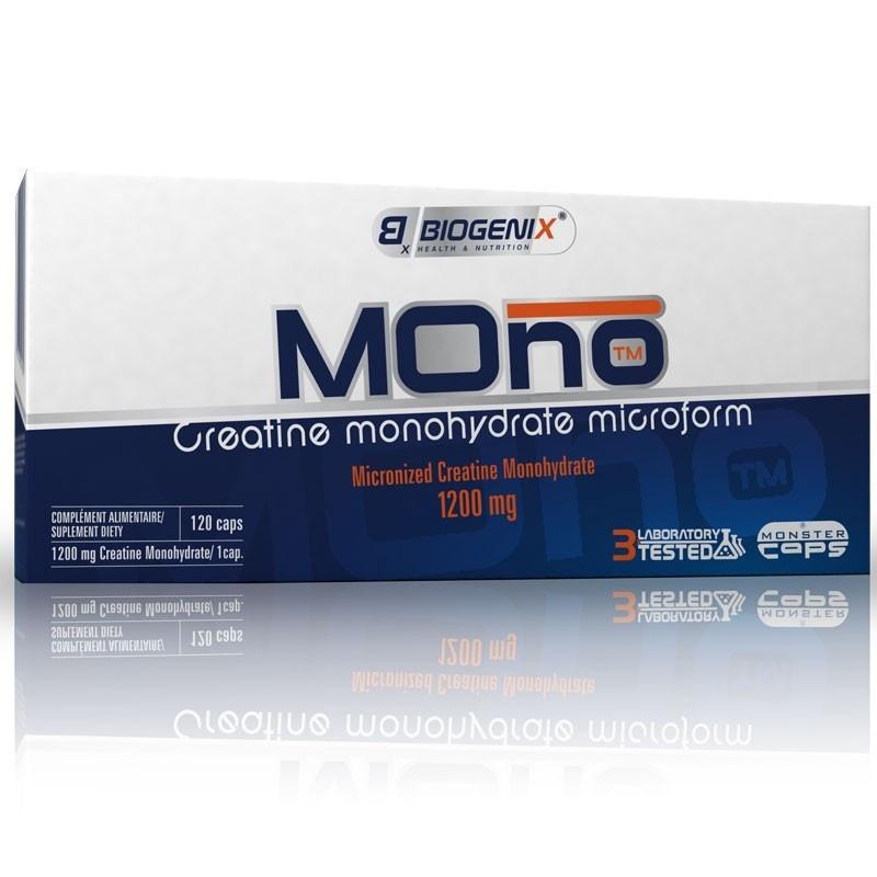 BIOGENIX Mono Creatine 120 kaps.