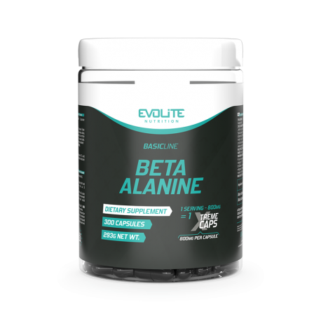 EVOLITE Beta Alanina 800mg Xtreme 300 kaps.