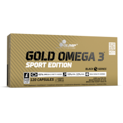 OLIMP Gold Omega 3 120 capsules SPORT EDITION