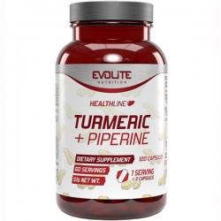 EVOLITE Turmeric+Piperine 120 kaps.