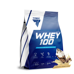 TREC Whey 100 900g chocolate