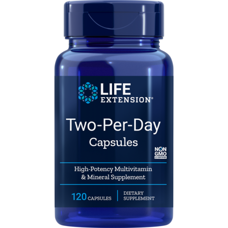 LIFE EXTENSION Two Per Day 120 kaps.