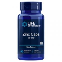 LIFE EXTENSION Zinc Caps 50mg 90 vcaps.