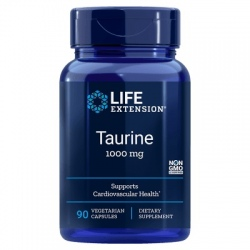 LIFE EXTENSION Taurine 1000mg 90 vcaps.