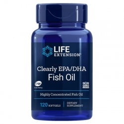 LIFE EXTENSION Clearly EPA/DHA 120 gels.