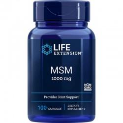 LIFE EXTENSION MSM 1000mg 100 kaps.
