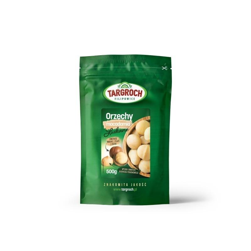 TARGROCH Orzechy Macadamia 500g