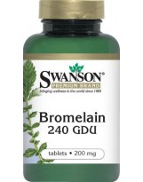 SWANSON Bromelain 200 mg 100 tablets