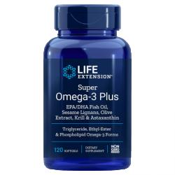 LIFE EXTENSION Super Omega 3 Plus 120 gels