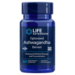 LIFE EXTENSION Optimized Ashwagandha Extract 60 vcaps.