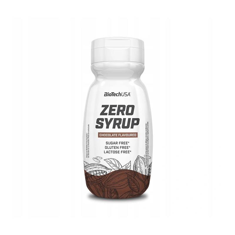BIOTECH Zero Syrup 320ml Czekolada