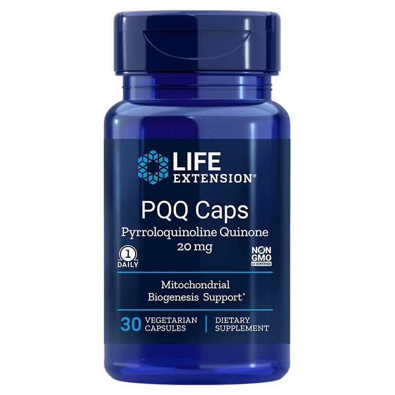 LIFE EXTENSION PQQ Caps 20mg 30 vcaps.