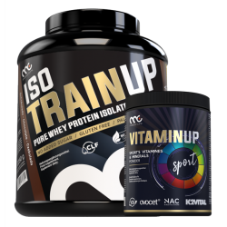 ZESTAW Muscle Clinic IsoTrainUP 2,2kg+VitaminUp