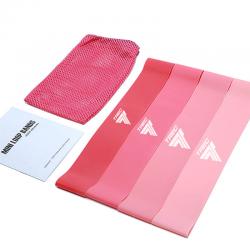 TREC Resistance Bands Mini Set 02 Pink