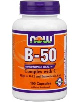 NOW Foods B-50 100 kaps.