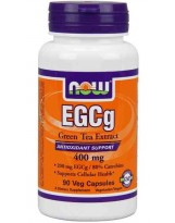 NOW Foods EGCG Green Tea 400mg 90 kaps.