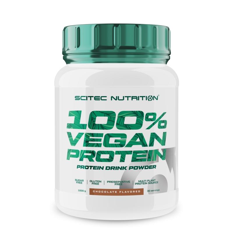 SCITEC Vegan Protein 1000 g Herbatnik Gruszka